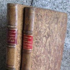 Libros antiguos: 2 LIBROS - DICCIONARIO LEGISLATIVO MILITAR - POR MIGUEL MUÑOZ CUELLAR APÉNDICE 1909 AL 1916. Lote 137560506