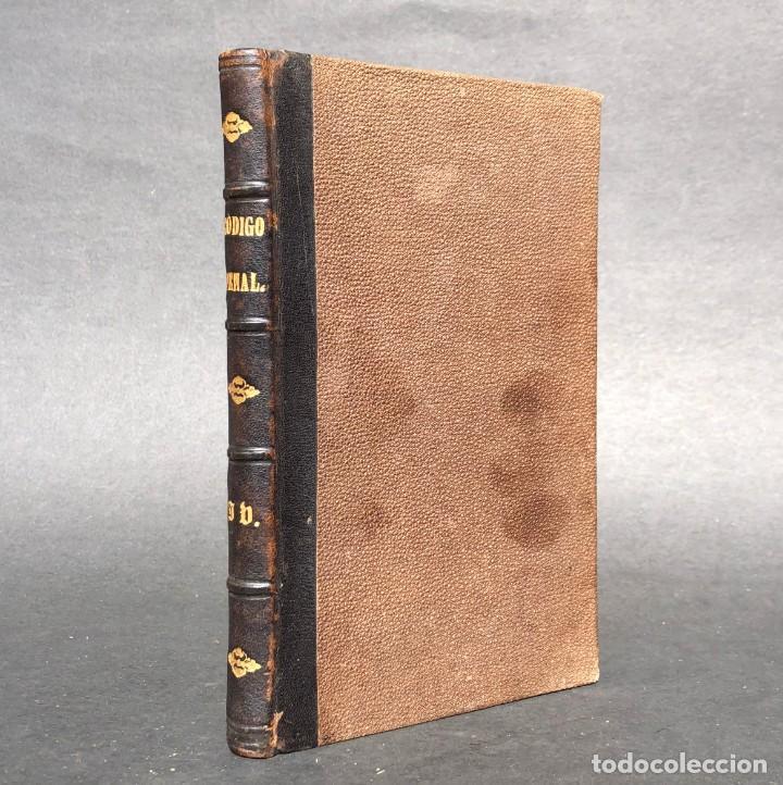 1879 CÓDIGO PENAL - DERECHO - LEGISLACIÓN (Libros Antiguos, Raros y Curiosos - Ciencias, Manuales y Oficios - Derecho, Economía y Comercio)