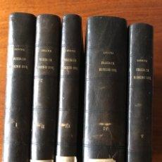 Libros antiguos: TEORÍA GENERAL DE LA PRUEBA EN DERECHO CIVIL, POR CARLOS LESSONA. Lote 139166722