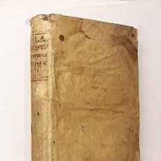 Libros antiguos: SALA : DIGESTUM ROMANO-HISPANUM (TOM 2º) 1794. ( DERECHO SIGLO XVIII. PERGAMINO. Lote 139594742