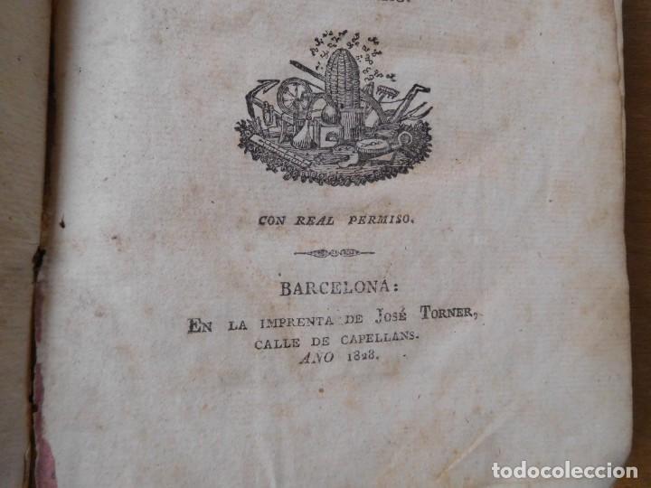 Libros antiguos: Libro anales de nuevos descubrimientos Barcelona año 1828 - Foto 3 - 140285554
