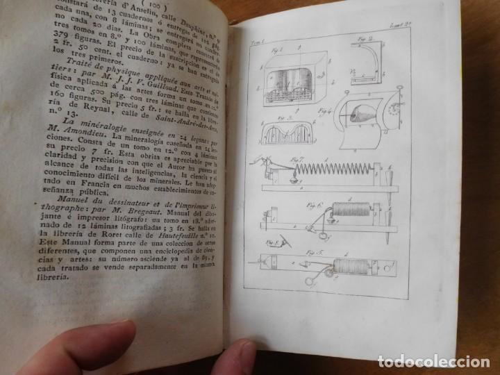Libros antiguos: Libro anales de nuevos descubrimientos Barcelona año 1828 - Foto 5 - 140285554
