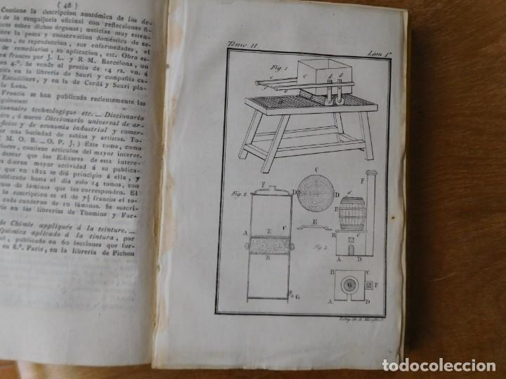 Libros antiguos: Libro anales de nuevos descubrimientos Barcelona año 1828 - Foto 6 - 140285554