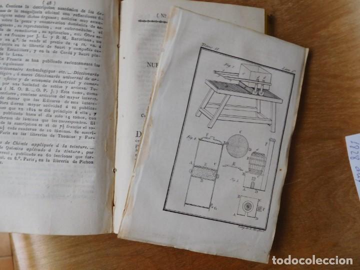 Libros antiguos: Libro anales de nuevos descubrimientos Barcelona año 1828 - Foto 7 - 140285554
