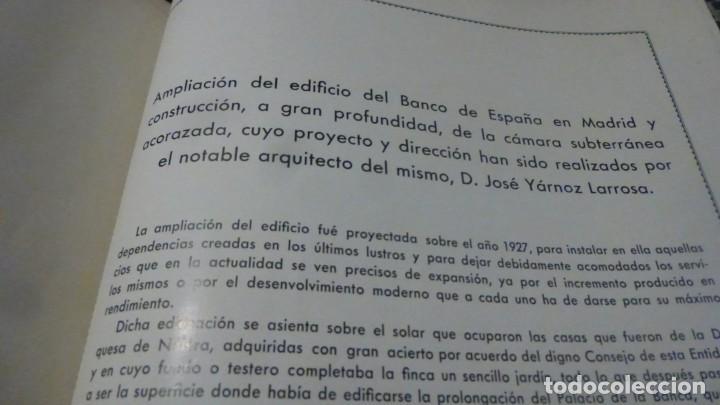 Libros antiguos: historial grafico del banco de españa, edicion de 1936, todo ilustrado - Foto 35 - 140671838