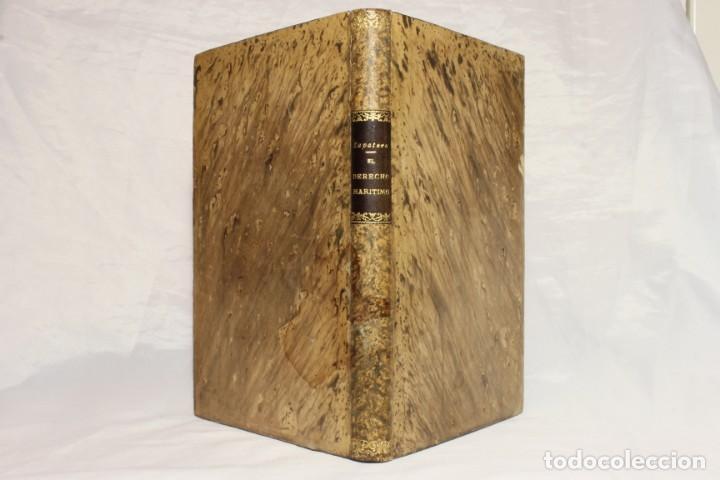 EL DERECHO MARÍTIMO Y LA LETRA DE CAMBIO. MANUEL ZAPATERO Y GARCÍA. 1886. (Libros Antiguos, Raros y Curiosos - Ciencias, Manuales y Oficios - Derecho, Economía y Comercio)