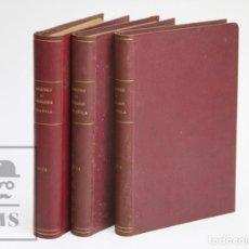 Libros antiguos: CONJUNTO DE 3 TOMOS / LIBROS - REPERTORIO DE LEGISLACIÓN ESPAÑOLA, AÑOS 1932-1934 - ARANZADI. Lote 142644154