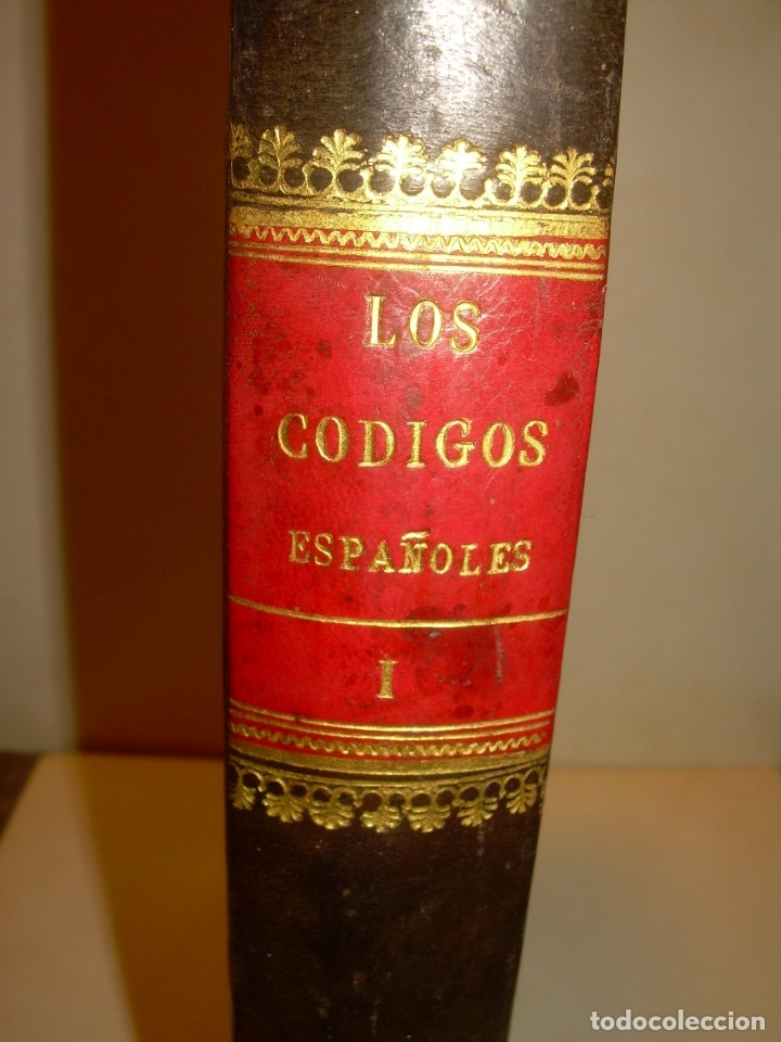Libros antiguos: LIBRO TAPAS DE PIEL..LOS CODIGOS ESPAÑOLES..AÑO 1847.FUERO DE CASTILLA,ALCALA,FUERO REAL. ETC. - Foto 3 - 142796890