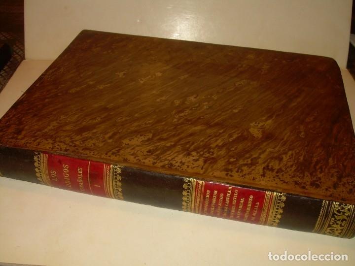 Libros antiguos: LIBRO TAPAS DE PIEL..LOS CODIGOS ESPAÑOLES..AÑO 1847.FUERO DE CASTILLA,ALCALA,FUERO REAL. ETC. - Foto 5 - 142796890