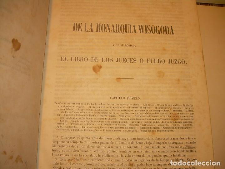 Libros antiguos: LIBRO TAPAS DE PIEL..LOS CODIGOS ESPAÑOLES..AÑO 1847.FUERO DE CASTILLA,ALCALA,FUERO REAL. ETC. - Foto 10 - 142796890