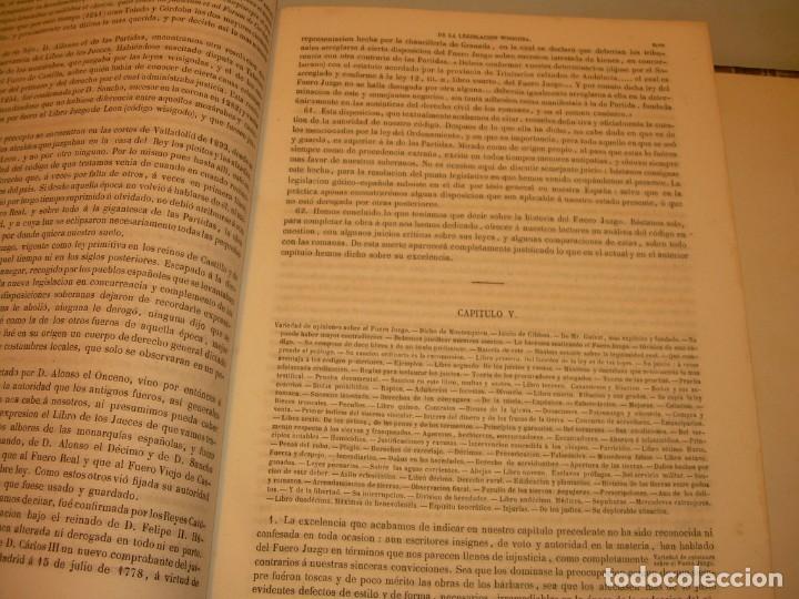 Libros antiguos: LIBRO TAPAS DE PIEL..LOS CODIGOS ESPAÑOLES..AÑO 1847.FUERO DE CASTILLA,ALCALA,FUERO REAL. ETC. - Foto 13 - 142796890