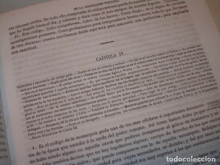 Libros antiguos: LIBRO TAPAS DE PIEL..LOS CODIGOS ESPAÑOLES..AÑO 1847.FUERO DE CASTILLA,ALCALA,FUERO REAL. ETC. - Foto 12 - 142796890