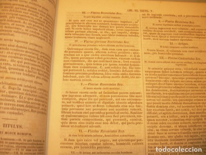 Libros antiguos: LIBRO TAPAS DE PIEL..LOS CODIGOS ESPAÑOLES..AÑO 1847.FUERO DE CASTILLA,ALCALA,FUERO REAL. ETC. - Foto 17 - 142796890