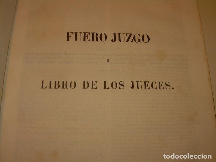 Libros antiguos: LIBRO TAPAS DE PIEL..LOS CODIGOS ESPAÑOLES..AÑO 1847.FUERO DE CASTILLA,ALCALA,FUERO REAL. ETC. - Foto 19 - 142796890