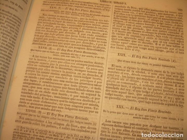 Libros antiguos: LIBRO TAPAS DE PIEL..LOS CODIGOS ESPAÑOLES..AÑO 1847.FUERO DE CASTILLA,ALCALA,FUERO REAL. ETC. - Foto 22 - 142796890