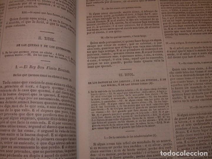 Libros antiguos: LIBRO TAPAS DE PIEL..LOS CODIGOS ESPAÑOLES..AÑO 1847.FUERO DE CASTILLA,ALCALA,FUERO REAL. ETC. - Foto 25 - 142796890