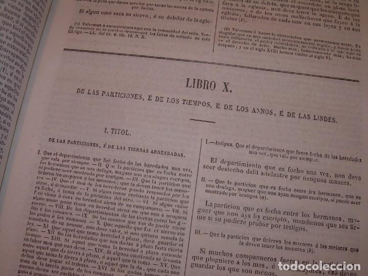 Libros antiguos: LIBRO TAPAS DE PIEL..LOS CODIGOS ESPAÑOLES..AÑO 1847.FUERO DE CASTILLA,ALCALA,FUERO REAL. ETC. - Foto 26 - 142796890