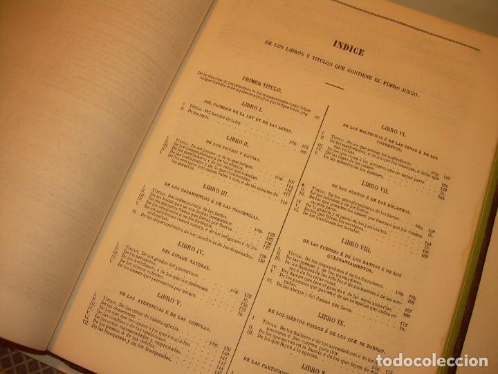 Libros antiguos: LIBRO TAPAS DE PIEL..LOS CODIGOS ESPAÑOLES..AÑO 1847.FUERO DE CASTILLA,ALCALA,FUERO REAL. ETC. - Foto 30 - 142796890