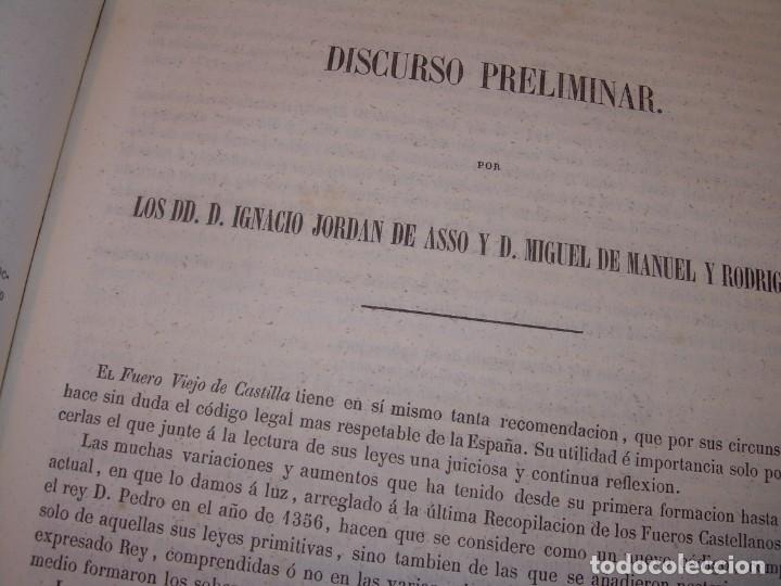 Libros antiguos: LIBRO TAPAS DE PIEL..LOS CODIGOS ESPAÑOLES..AÑO 1847.FUERO DE CASTILLA,ALCALA,FUERO REAL. ETC. - Foto 31 - 142796890