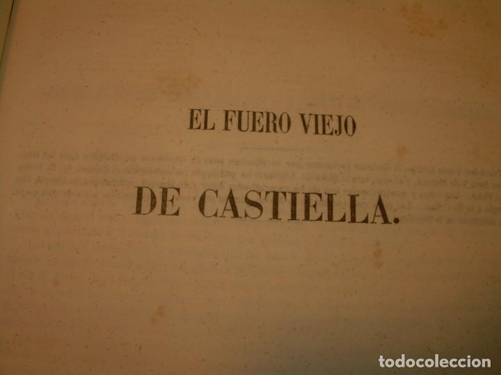 Libros antiguos: LIBRO TAPAS DE PIEL..LOS CODIGOS ESPAÑOLES..AÑO 1847.FUERO DE CASTILLA,ALCALA,FUERO REAL. ETC. - Foto 32 - 142796890