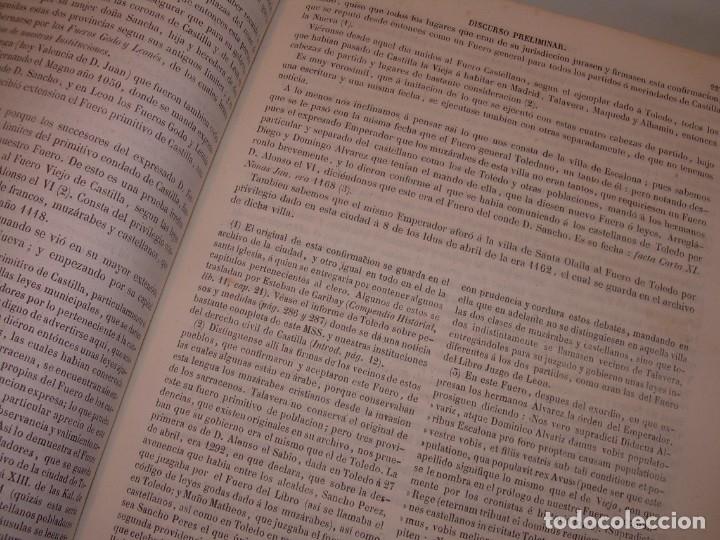 Libros antiguos: LIBRO TAPAS DE PIEL..LOS CODIGOS ESPAÑOLES..AÑO 1847.FUERO DE CASTILLA,ALCALA,FUERO REAL. ETC. - Foto 33 - 142796890