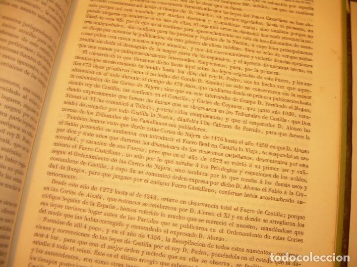 Libros antiguos: LIBRO TAPAS DE PIEL..LOS CODIGOS ESPAÑOLES..AÑO 1847.FUERO DE CASTILLA,ALCALA,FUERO REAL. ETC. - Foto 35 - 142796890