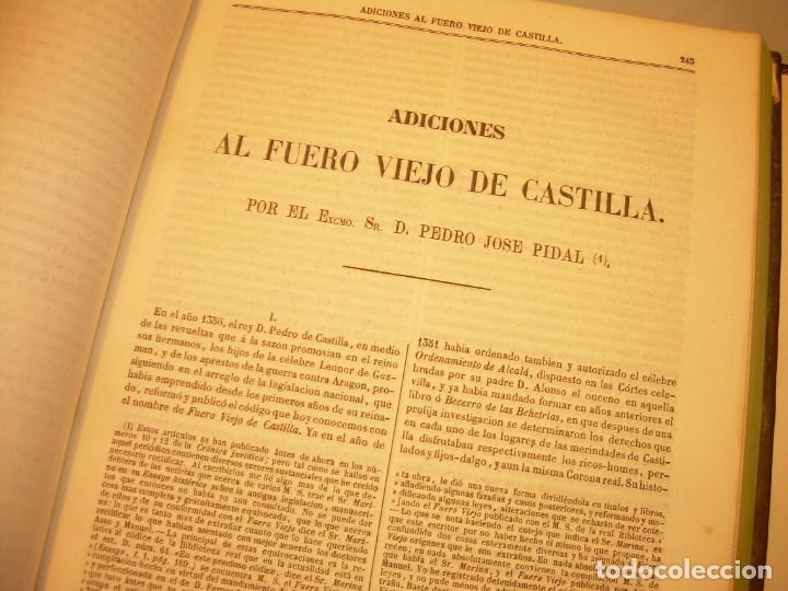 Libros antiguos: LIBRO TAPAS DE PIEL..LOS CODIGOS ESPAÑOLES..AÑO 1847.FUERO DE CASTILLA,ALCALA,FUERO REAL. ETC. - Foto 36 - 142796890
