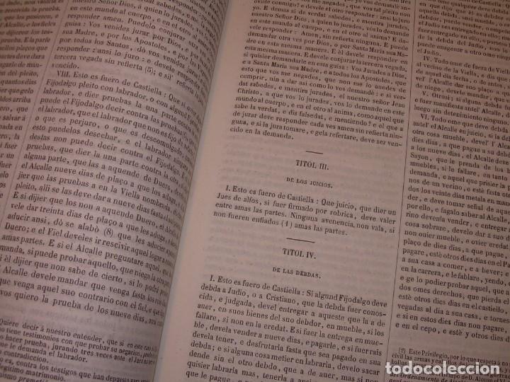 Libros antiguos: LIBRO TAPAS DE PIEL..LOS CODIGOS ESPAÑOLES..AÑO 1847.FUERO DE CASTILLA,ALCALA,FUERO REAL. ETC. - Foto 38 - 142796890