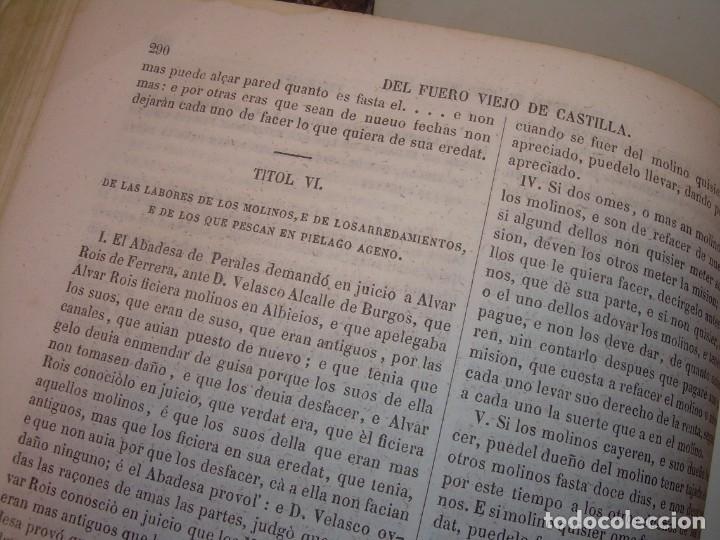 Libros antiguos: LIBRO TAPAS DE PIEL..LOS CODIGOS ESPAÑOLES..AÑO 1847.FUERO DE CASTILLA,ALCALA,FUERO REAL. ETC. - Foto 40 - 142796890