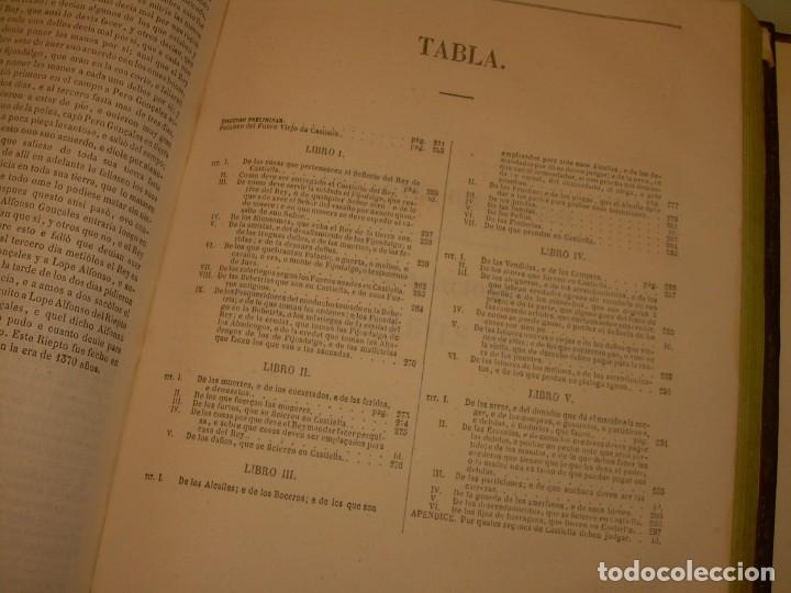 Libros antiguos: LIBRO TAPAS DE PIEL..LOS CODIGOS ESPAÑOLES..AÑO 1847.FUERO DE CASTILLA,ALCALA,FUERO REAL. ETC. - Foto 43 - 142796890