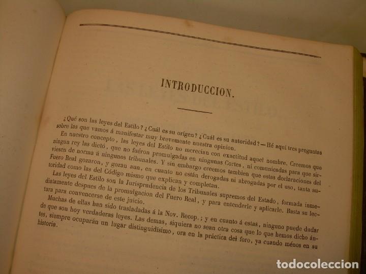 Libros antiguos: LIBRO TAPAS DE PIEL..LOS CODIGOS ESPAÑOLES..AÑO 1847.FUERO DE CASTILLA,ALCALA,FUERO REAL. ETC. - Foto 45 - 142796890