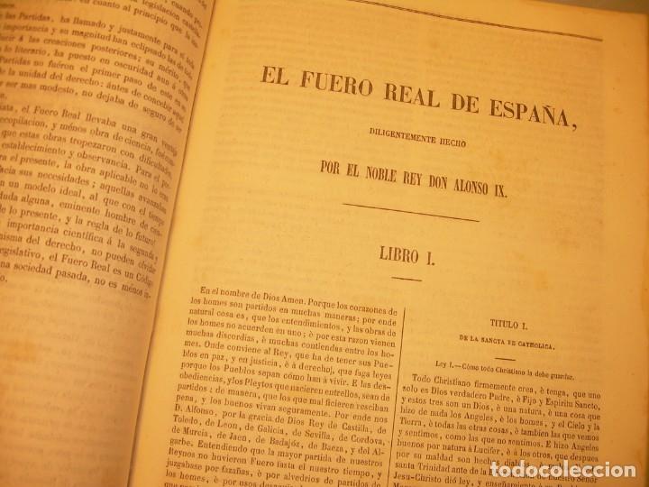 Libros antiguos: LIBRO TAPAS DE PIEL..LOS CODIGOS ESPAÑOLES..AÑO 1847.FUERO DE CASTILLA,ALCALA,FUERO REAL. ETC. - Foto 50 - 142796890