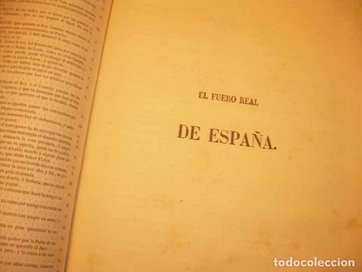 Libros antiguos: LIBRO TAPAS DE PIEL..LOS CODIGOS ESPAÑOLES..AÑO 1847.FUERO DE CASTILLA,ALCALA,FUERO REAL. ETC. - Foto 49 - 142796890