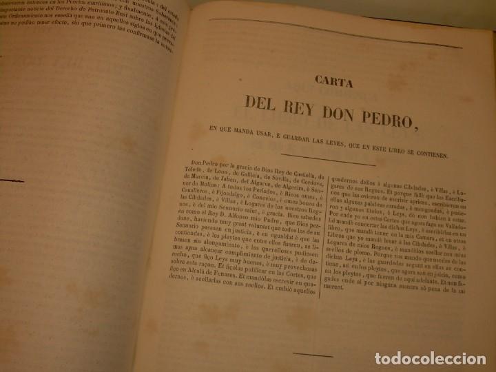 Libros antiguos: LIBRO TAPAS DE PIEL..LOS CODIGOS ESPAÑOLES..AÑO 1847.FUERO DE CASTILLA,ALCALA,FUERO REAL. ETC. - Foto 55 - 142796890