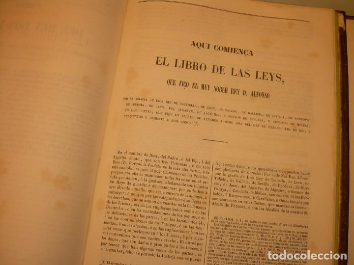 Libros antiguos: LIBRO TAPAS DE PIEL..LOS CODIGOS ESPAÑOLES..AÑO 1847.FUERO DE CASTILLA,ALCALA,FUERO REAL. ETC. - Foto 56 - 142796890