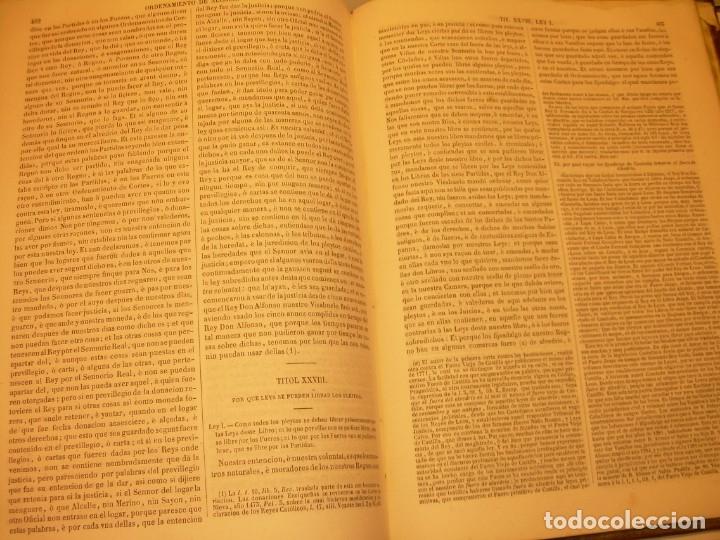 Libros antiguos: LIBRO TAPAS DE PIEL..LOS CODIGOS ESPAÑOLES..AÑO 1847.FUERO DE CASTILLA,ALCALA,FUERO REAL. ETC. - Foto 58 - 142796890