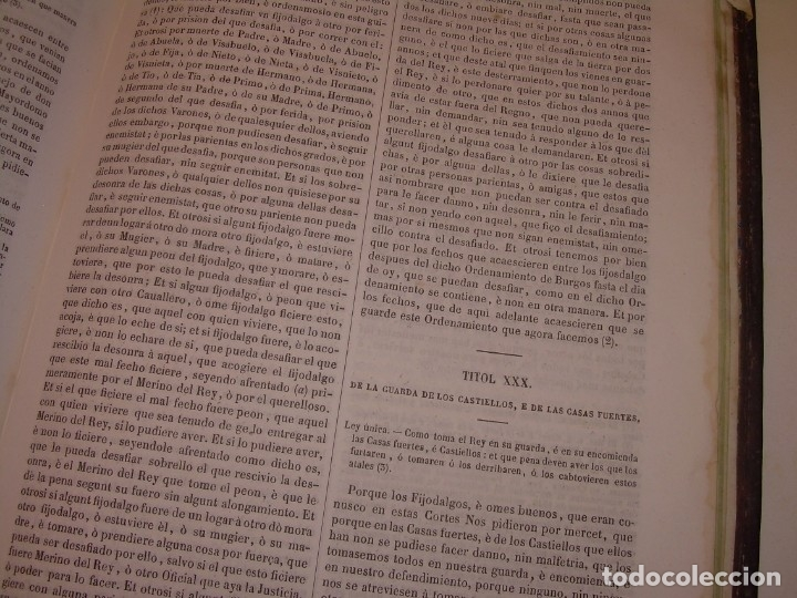 Libros antiguos: LIBRO TAPAS DE PIEL..LOS CODIGOS ESPAÑOLES..AÑO 1847.FUERO DE CASTILLA,ALCALA,FUERO REAL. ETC. - Foto 59 - 142796890
