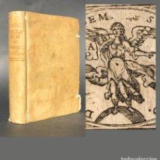 Libros antiguos: 1724 COMPENDIO DE CONTRATOS PUBLICOS - DERECHO - PERGAMINO - . Lote 142885718