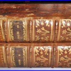 Libros antiguos: AÑO 1777: TRATADO DE SERVIDUMBRES. 2 TOMOS DEL SIGLO XVIII MUY BIEN CONSERVADOS DE 20,50 CM.. Lote 142890126