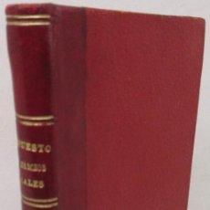 Libros antiguos: REGLAMENTO PROVISIONAL DEL IMPUESTO DE DERECHOS REALES Y TRANSMISIÓN BIENES, MADRID 1911. Lote 142947914