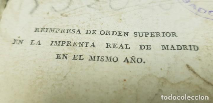 Libros antiguos: J10- CONSTITUCION POLITICA DE LA MONARQUIA ESPAÑOLA AÑO 1812 IMPRENTA REAL MUY DIFICIL! - Foto 4 - 143834262