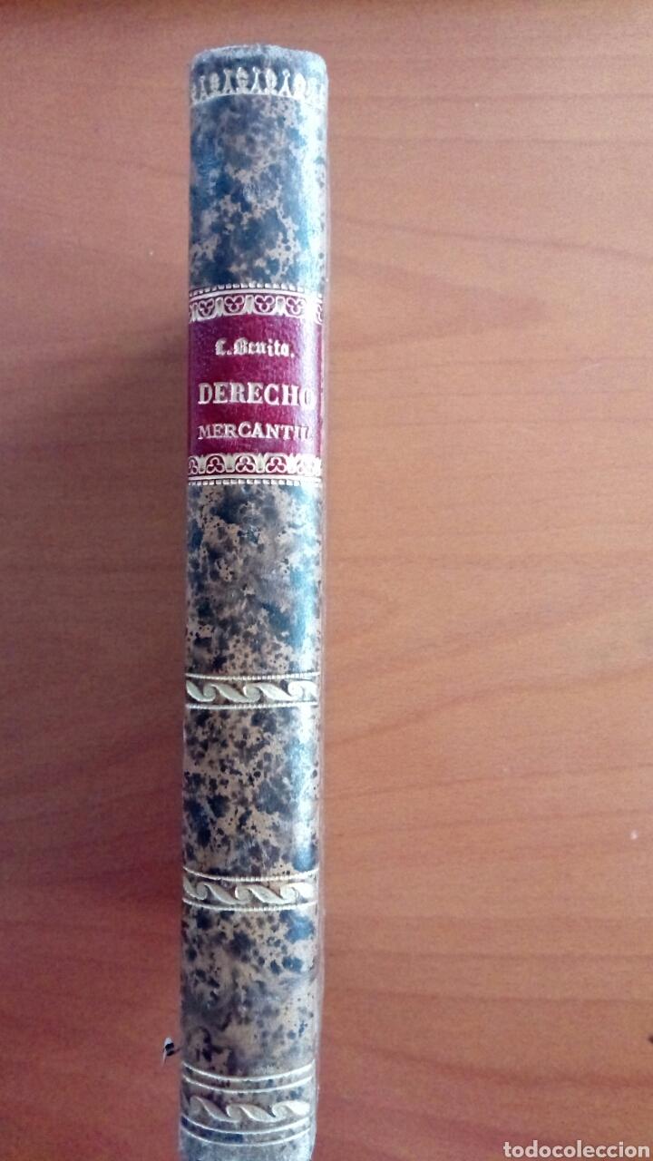 Libros antiguos: Lecciones de derecho mercantil por Lorenzo Benito y de Endara. 1889. - Foto 2 - 144315616