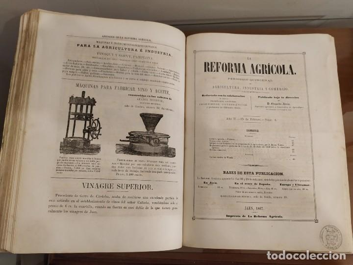 Libros antiguos: INFORME SOCIEDAD ECONÓMICA DE MADRID LEY AGRARIA MELCHOR JOVELLANOS 1866 + REVISTAS REFORMA AGRARIA - Foto 3 - 144583734