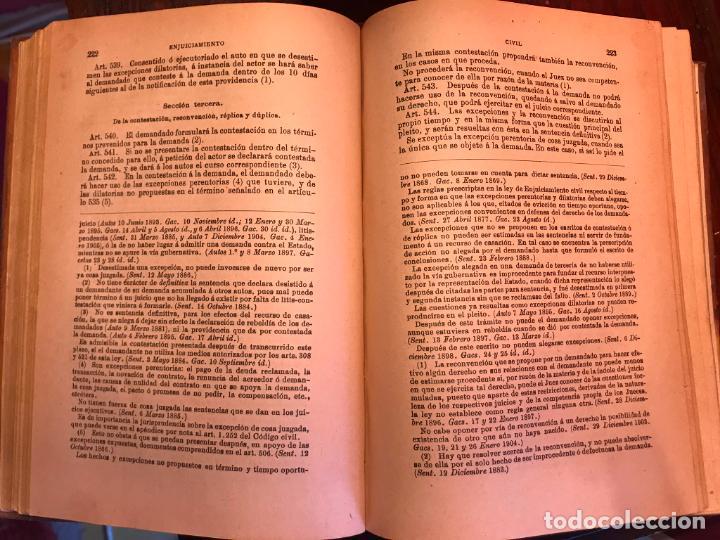 Libros antiguos: LEY DE ENJUICIAMIENTO CIVIL 3 FEBRERO 1881 - Foto 4 - 145059758