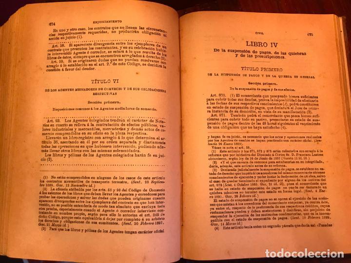 Libros antiguos: LEY DE ENJUICIAMIENTO CIVIL 3 FEBRERO 1881 - Foto 5 - 145059758