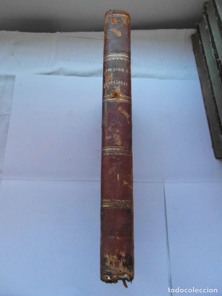 Libros antiguos: Codigos españoles concordados y anotados. Tomo primero. 1847. 483 paginas. 30 x 23 cm. CCTT - Foto 6 - 145307770
