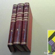 Livres anciens: PALMA, LUIGI: CORSO DI DIRITTO COSTITUZIONALE. (3 VOLS). Lote 236396305