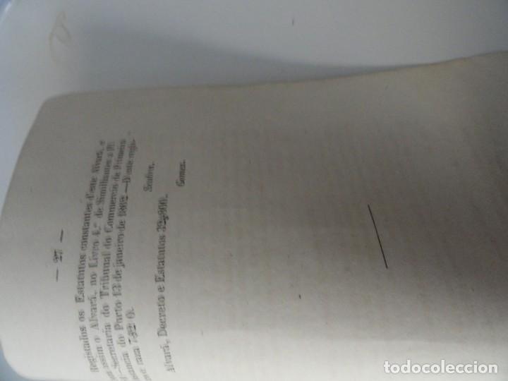 Libros antiguos: Estatutos do Banco Uniao 1863 - Foto 2 - 145678826