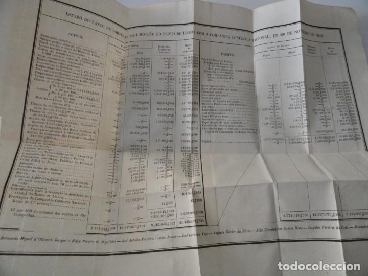 Libros antiguos: Organisaçao do Banco de Portugal 1847 - Primer Estatuto del Banco de Portugal - Foto 4 - 145681046