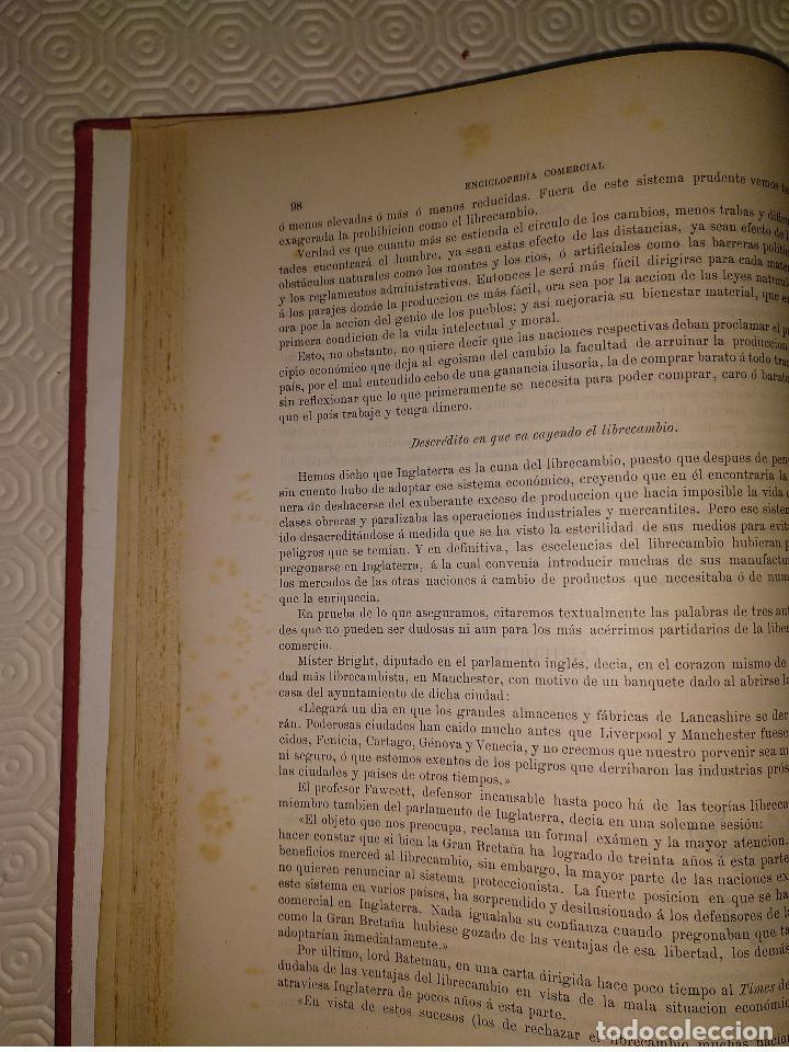 Libros antiguos: ENCICLOPEDIA COMERCIAL TRATADO COMPLETO. 3 TOMOS. ANTONIO TORRENTS MONNER. BARCELONA 1885-88-89. - Foto 6 - 146050594